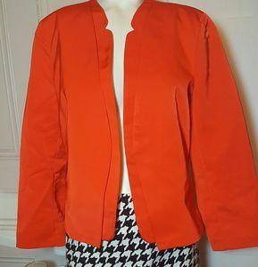 Worthington Orange  Blazer sz LP
